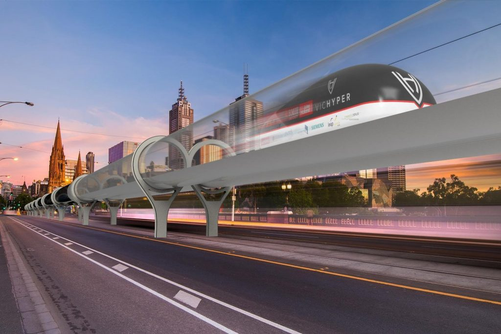 vichyper hyperloop transport