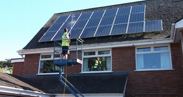 mantenimiento de los paneles solares o módulos fotovoltaicos - Suncore